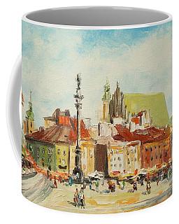 Warsaw- Castle Square Coffee Mug