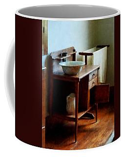 Wash Basin And Towel Coffee Mug
