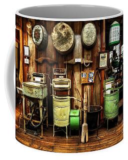 Washing Machines Of Yesteryear Coffee Mug by Kaye Menner