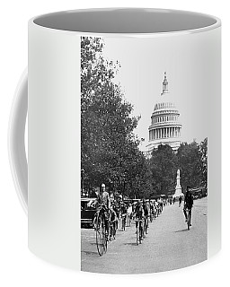 Washington Bicycle Parade Coffee Mug