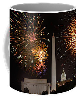 Washington Fireworks Coffee Mug