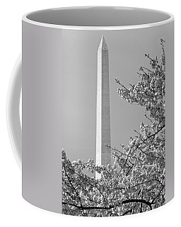 Washington Monument Amidst The Cherry Blossoms Coffee Mug