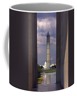Washington Monument And Capitol 2 Coffee Mug