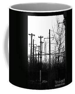 Washington Monument From The Train Yard. Washington Dc Coffee Mug