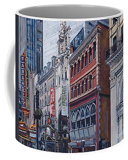 Washington Street In June Coffee Mug