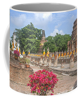 Wat Phra Chao Phya-thai Buddha Images And Ruined Chedi Dtha004 Coffee Mug