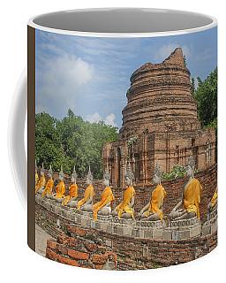 Wat Phra Chao Phya-thai Buddha Images And Ruined Chedi Dtha005 Coffee Mug