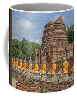 Wat Phra Chao Phya-thai Buddha Images And Ruined Chedi Dtha005 Coffee Mug