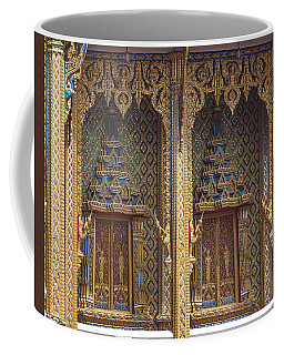 Wat Thung Setthi Ubosot Window Dthb1550 Coffee Mug
