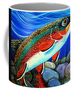 Brook Trout  Coffee Mug by Jackie Carpenter