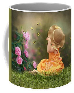 Watching Butterflies Coffee Mug