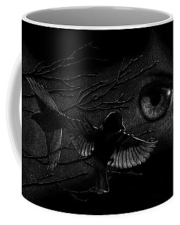 Watching Over Sparrows Coffee Mug