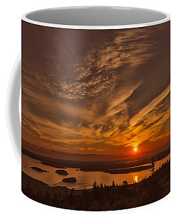 Watching The Sunrise Coffee Mug by John M Bailey