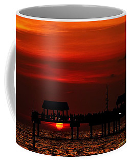 Coffee Mug featuring the photograph Watching The Sunset by Richard Zentner