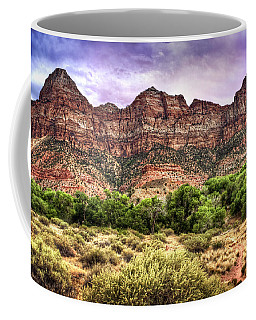 Coffee Mug featuring the photograph Watchman Trail - Zion by Tammy Wetzel