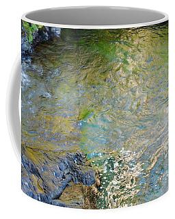 Narada Falls Water Colors Coffee Mug by Connie Fox