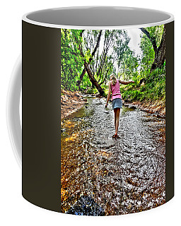 Coffee Mug featuring the photograph Water Dancing by Lanita Williams