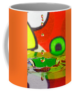 Coffee Mug featuring the photograph Water Dew by Peter Lakomy