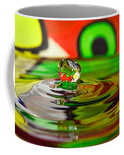 Coffee Mug featuring the photograph Water Drop by Peter Lakomy