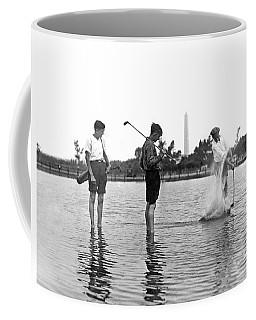 Water Hazard On Golf Course Coffee Mug