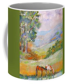 Water Hole Coffee Mug by Mary Armstrong