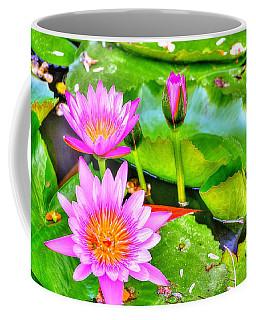 Water Lilies 2 Coffee Mug by Richard Zentner