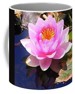 Water Lily In Pink Coffee Mug