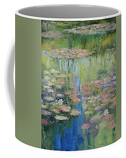 Water Lily Pond Coffee Mug