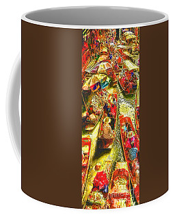 Water Market Coffee Mug by Mo T