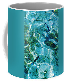 Water Meditation II. Five Elements. Healing With Feng Shui And Color Therapy In Interior Design Coffee Mug