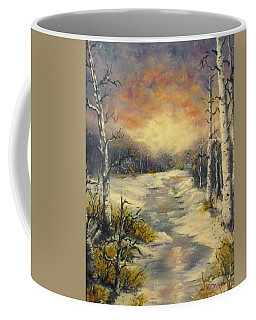 Coffee Mug featuring the painting Water Music  by Megan Walsh