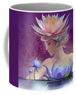 Water Of Life - In Violet Coffee Mug
