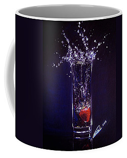 Water Splash Reflection Coffee Mug