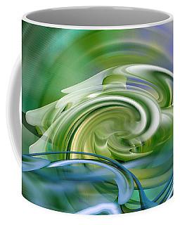 Water Sports - Abstract Art Coffee Mug