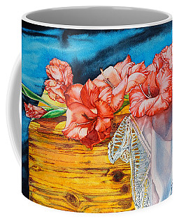 Watercolor Exercise Gladiolas Coffee Mug