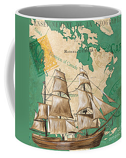 Watercolor Map 2 Coffee Mug