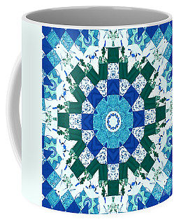 Watercolor Quilt Coffee Mug
