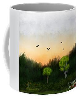 Watercolor Sunset 2 Coffee Mug