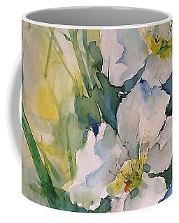 Watercolor Wild Flowers Coffee Mug