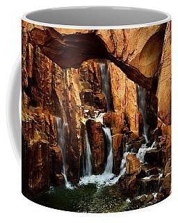 Waterfall 3 Coffee Mug by Richard Zentner