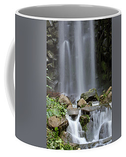 Coffee Mug featuring the photograph Waterfall In Singapore by Shoal Hollingsworth