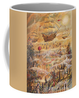 Waterfall Of Prosperity Coffee Mug