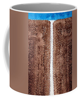 Waterfall Original Painting Coffee Mug