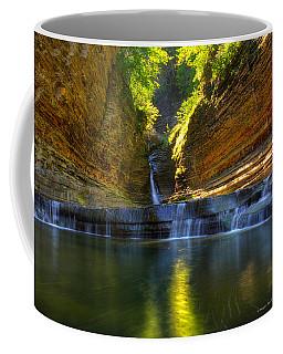 Waterfalls At Watkins Glen State Park Coffee Mug