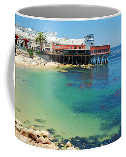 Waterfront At Cannery Row Coffee Mug by Jonah  Anderson