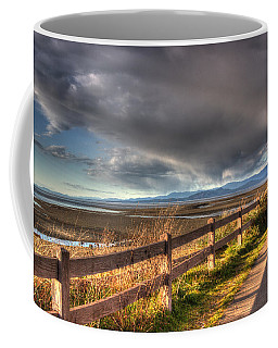 Waterfront Walkway Coffee Mug by Randy Hall