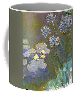 Waterlilies And Agapanthus Coffee Mug