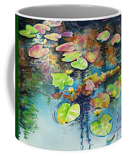 Waterlilies In Shadow Coffee Mug