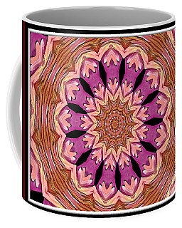 Coffee Mug featuring the photograph Waterlily Flower Kaleidoscope 2 by Rose Santuci-Sofranko
