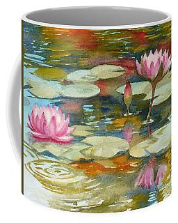 Waterlily Pond Coffee Mug